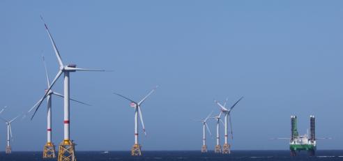 assistance-sous-marine-pour-la-pose-de-câbles-énergie-pour-la-ferme-offshore-éoliennes-en-belgique-à-ostende